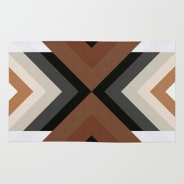 Geometric Art with Bands 05 Rug