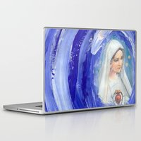 mother Laptop & iPad Skins featuring Mother by Ibbanez