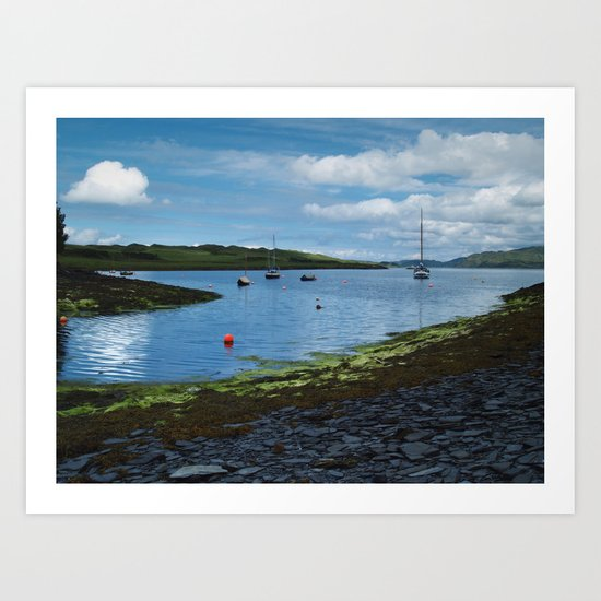 At Toberonochy Art Print