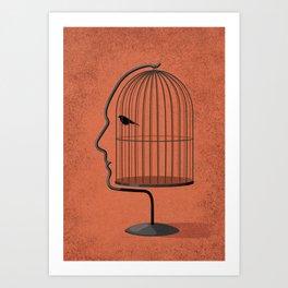 free to speak your mind Art Print