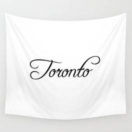 Toronto Wall Tapestry