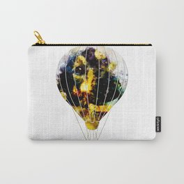 dog 2 hot air balloon Carry-All Pouch