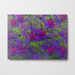 Cornflower Jungle Metal Print