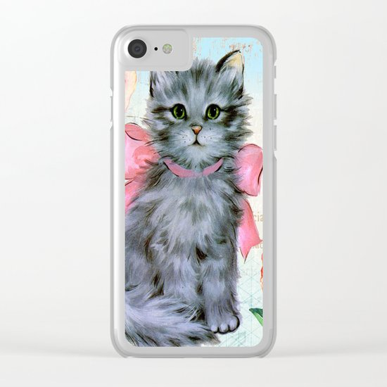 Sweet animal #2 Clear iPhone Case
