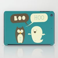 dead iPad Cases featuring Boo Hoo by AGRIMONY // Aaron Thong