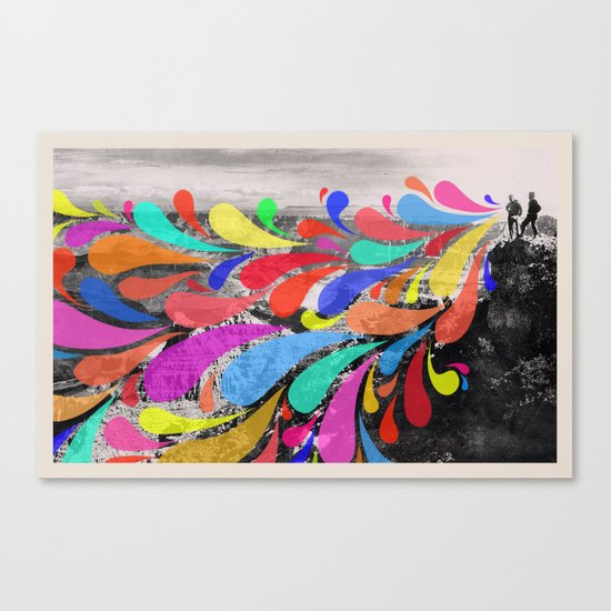 Speak Canvas Print