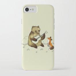 Bear & Fox iPhone Case