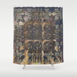 Stepchild of postmasters Shower Curtain