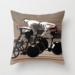 Velodrome Throw Pillow