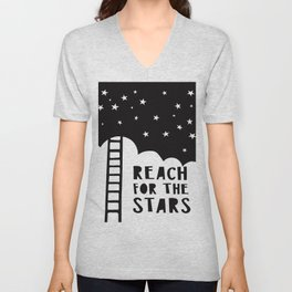 Reach for the Stars Unisex V-Neck