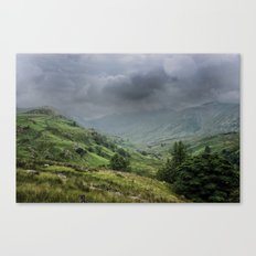 storms a coming Canvas Print