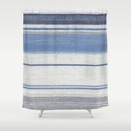 Vintage Stipe Shower Curtain
