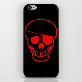 Skull With Eye iPhone Skin