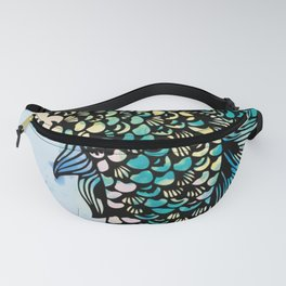 Jellyfish and Mermaid Fanny Pack
