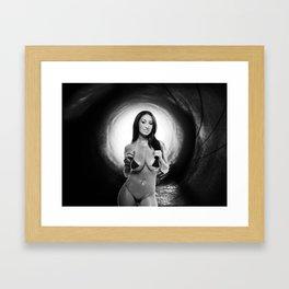 Tunnel Vision V2 Framed Art Print