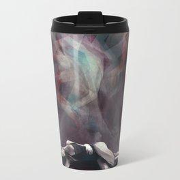 Burn Out Metal Travel Mug