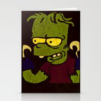 simpson Stationery Cards featuring Bart Simpson by Jide