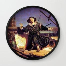 Matejko-Astronomer Copernicus-Conversation with God Wall Clock