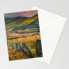 Cwmorthin Slate Quarry Blaenau Ffestiniog Stationery Cards