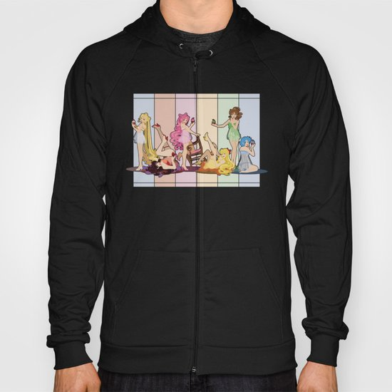 Sailor Moon Pinup - Cupcakes Hoody