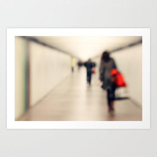 Love is an unknown destination... Art Print