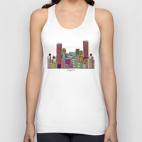 miami Tank Tops featuring Miami by bri.buckley
