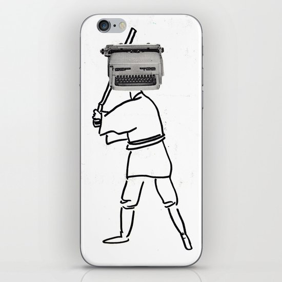 luke typewriter iPhone & iPod Skin