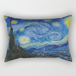 The Starry Night Vincent van Gogh 1889 Oil on canvas Rectangular Pillow