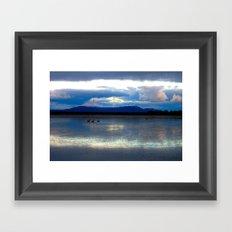 Lakes Lonsdale Framed Art Print