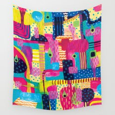 Disorderly Wall Tapestry
