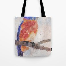 Little Bluebird Tote Bag