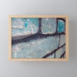 Along the Wall Framed Mini Art Print