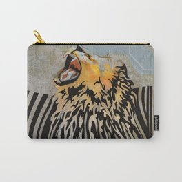 lion barcode Carry-All Pouch