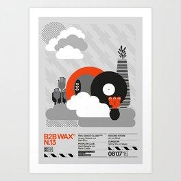 B2B Wax N.13 Art Print