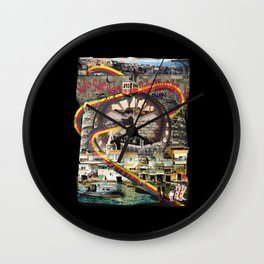 Tourist Trap Wall Clock
