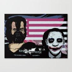 Bright Bipartisan Poster Canvas Print