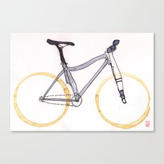 Coffee Wheels #04 Canvas Print