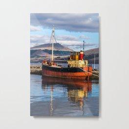 Calm Harbour Metal Print