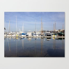 Jeffersons loop - City of San Francisco Canvas Print