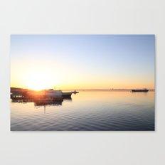 pastel on the horizon Canvas Print