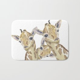 The Trios Bath Mat