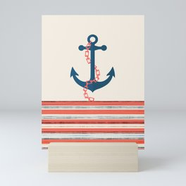 Sea anchor ship. 2 Mini Art Print