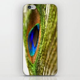 Shimmering Peacock iPhone Skin