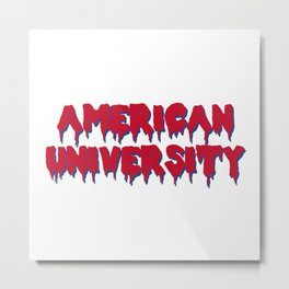 American u drip Metal Print