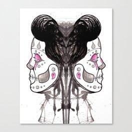 Vivan Los Muertos Canvas Print