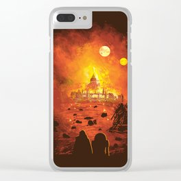 Rise From The Ashes Clear iPhone Case
