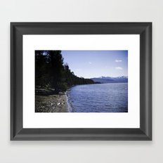 Lake Yellowstone Framed Art Print