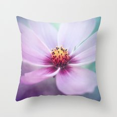 BEAUTY OF THE FOREST - PINK COSMEA FLOWER Throw Pillow