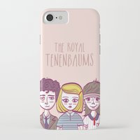 royal tenenbaums iPhone & iPod Cases featuring Tenenbaums by Pilotinta