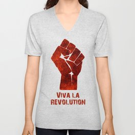 Viva La Revolution Unisex V-Neck